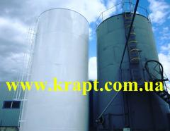 Резервуар для масла вертикальный