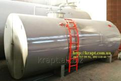 Tanks for storage and a holiday of oil products