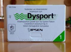 Dysport of 500 PIECES (botulotoksin type A)