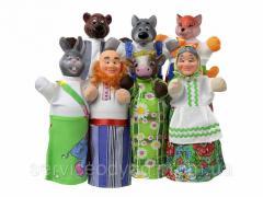 Кукольный Театр Сказки Соломенный Бычок ТМ Чудисам