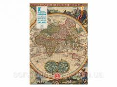 Тетрадь А6 96Л Оф. Ancient Map 151000 ТМ Yes