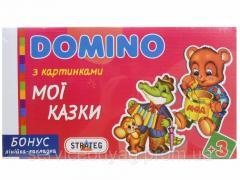 Домино Стратег 3+ Мои Сказки, В Кор., 35,5Х20Х3См