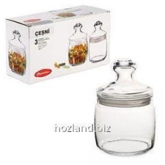 """Cheshni"" 500 ml for loose 3pcs ""Pasabahce"""