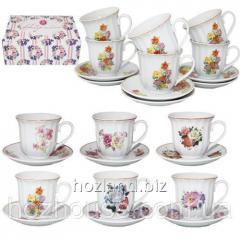Набор чайный 12пр. керамика