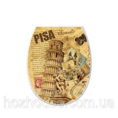 Сиденье для унитаза Пизанская башня ELIF