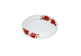 Pickle dish 10 ' red poppy 30066