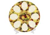 IT055 Подставка для яиц (19,5*19,5*1,7) Фрукты