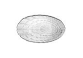 Атлантис тарелка овал d-150/240мм 10238