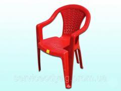 Кресло Пласт.Червоне ТМ Консенсус