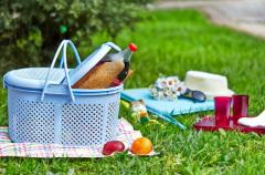 Корзина для пикника 22 л. Irak Plastik