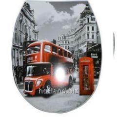 """Сиденье для унитаза Лондон автобус """"ELIF"""""""