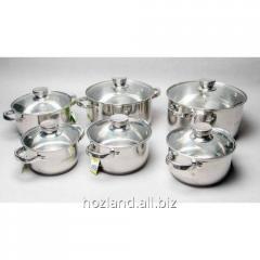 Посуда Maestro 12 предметов серебро