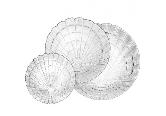 Атлантис набор тарелок 18пр 97936