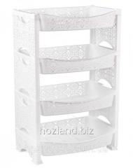 Полки и этажерки пластиковые