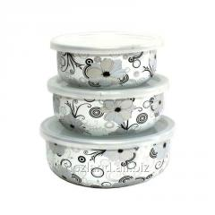 Enameled containers (set) series