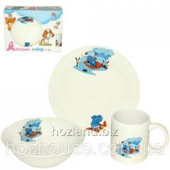 Children's dinner set porcelain 3pr.