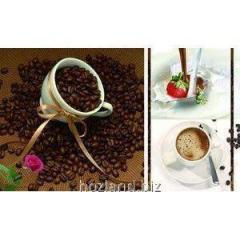 Клеенка настольная пластик 58х97мм, толщ 0.17мм Вкус кофе НТМ