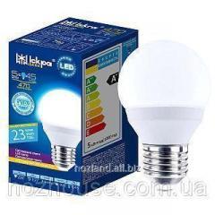Лампа LED G45 5w Е-27 4000k Искра