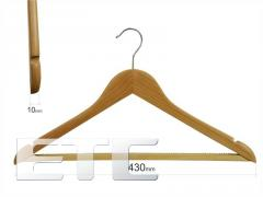 Coat hanger for type 1A clothes (beech) with a