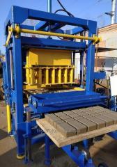 Вибропресс КВП-858-2 для производства бордюра
