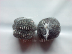 Sponges metal (scrapers)