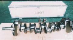 Crankshaft JCB, Hitachi 6BG1 1123104701 Isuzu