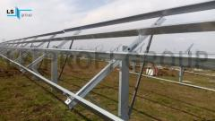 Steel galvanized structures for fix PV modules