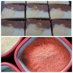Мыло с ладаном и розовой глиной