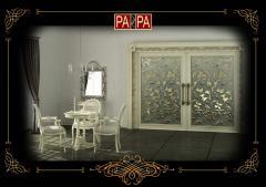 Межкомнатная дверь коллекция Белый Шоколад, Арт. БШ01