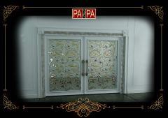 Межкомнатная дверь коллекция Белый Шоколад, Арт. БШ03