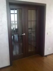 Деревянная дверь под лак Арт. Л04
