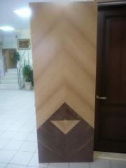 Деревянная дверь под лак Арт. Л08