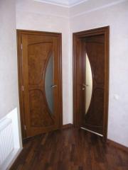 Деревянная дверь под лак Арт. Л09