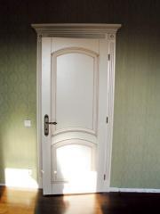 Деревянная дверь под покраску Арт. П05