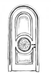 Дверь межкомнатная деревянная 05