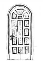 Дверь межкомнатная деревянная 07