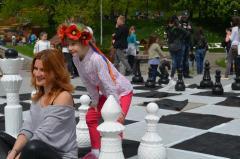Шахматы большие напольные