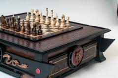 Шахматная доска в японском стиле Двойное...