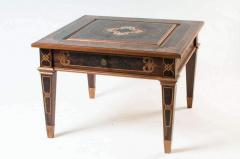 Шахматный стол Коричневый кельт