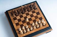 Шахматы сувенирные - шахматная доска - Ларец