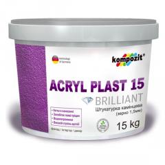 Штукатурка камешковая Acryl Plast 15 15кг