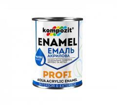 Эмаль акриловая Kompozit PROFI глянцевая 0,8 л