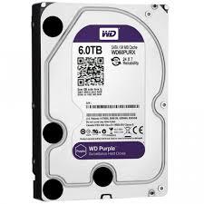 Жесткий диск 3.5' 6TB Western Digital Purple WD60PURZ