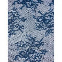 Кружевное полотно Синее S0644EA