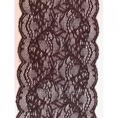 Кружево эластичное коричневое 698-155