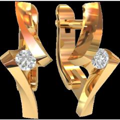Серьги бриллиантовой группы