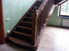 Лестница Г-образная Арт. 002.