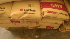 ABS plastové granule LG, Kumho, Sabic