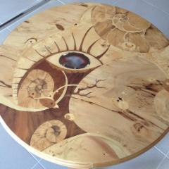 Marquetry table-top 8