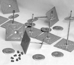 Nail of samokleyushchiya 44mm-63mm (100 pieces)
